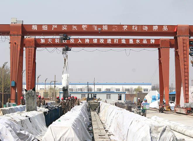 预应力桥板生产