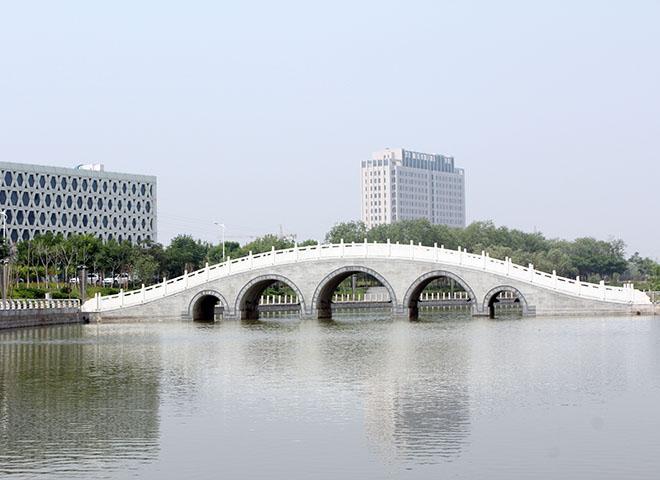 溢洪河五孔桥